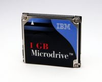 The Original 1Gb Microdrive from IBM